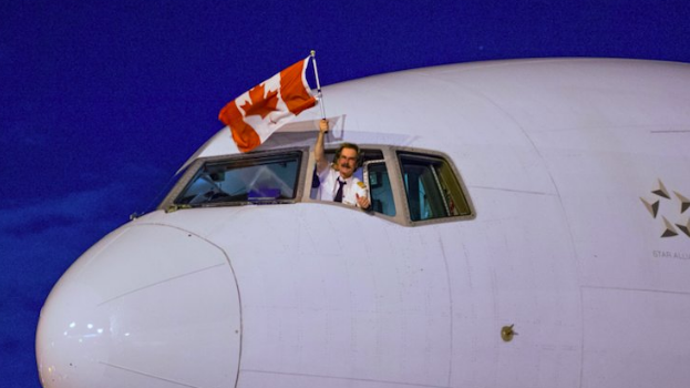 Air Canada moment Twitter