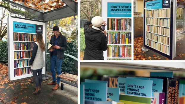 Spotted! Royal Roads University's new lending library ...