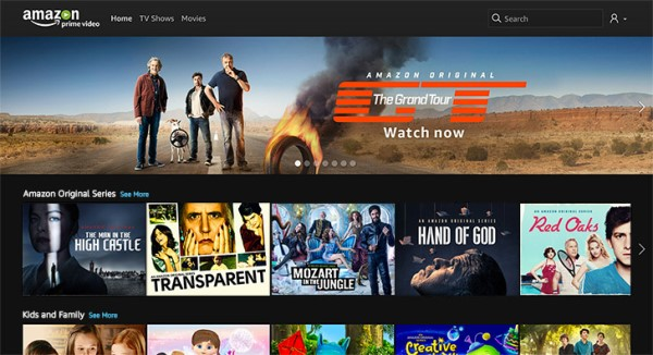 is prime video included in amazon prime canada