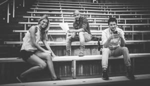 Brodie Lawson, Davis Sanchez and Max Rosenberg. (Photo: Johany Jutras / CFL)