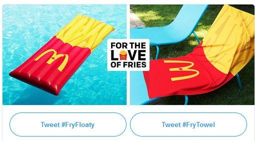 Fry day mcdonalds