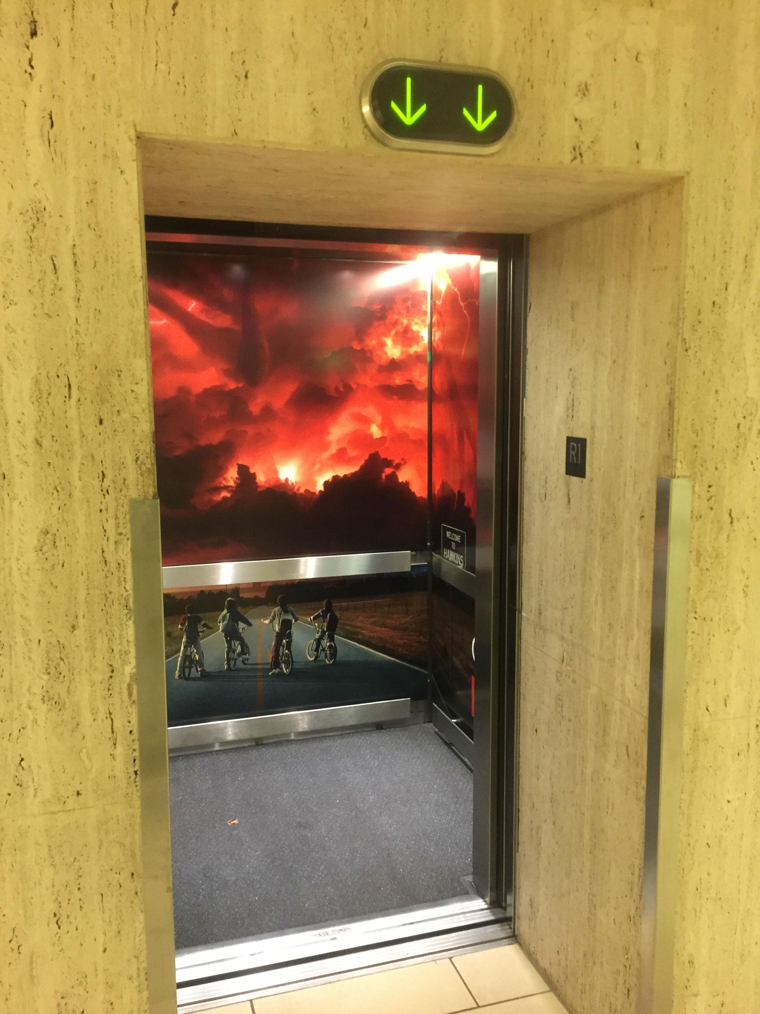 Elevator - Door Opened