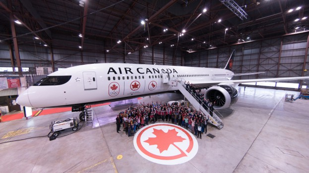 Air Canada-Air Canada Proudly Flies the Flag with Renewed Team C