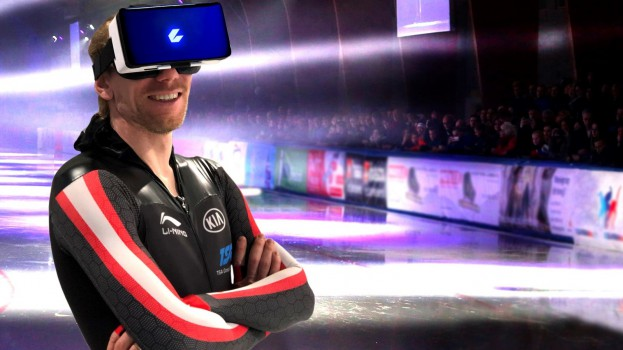 CEEK VR- Inc--Canadian speed skater Ted-Jan Bloemen becomes the