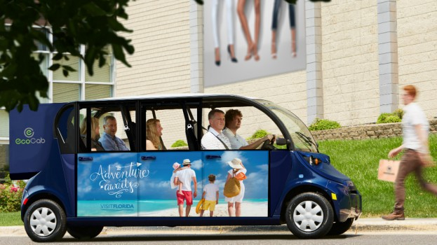 Eco Cab Moves Past The Pedal With New Branded Vehicles