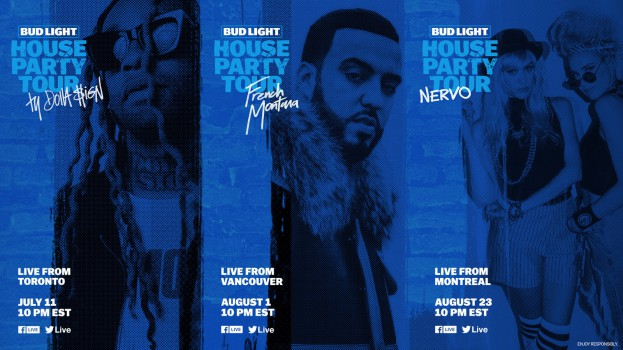 Bud Light Canada-Bud Light Brings Epic House Party Tour to Canad