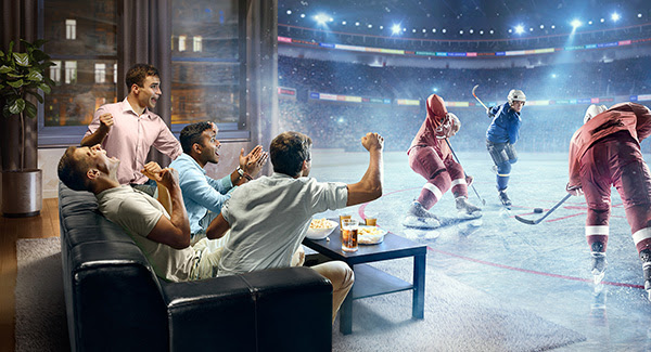 Big Sports Fans Are Big Tv Consumers Study Media In Canada