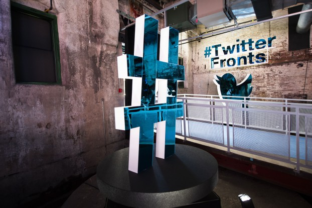 #TwitterFronts entrance