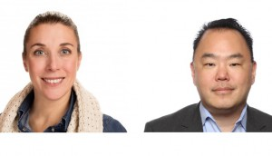 Karine Courtemanche, president Touche! (left) and Bob Park, CBO of GE Appliances will serve as the 2019 MIA co-chairs.