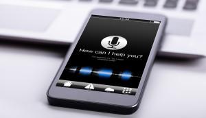 Smart Phone On Desk