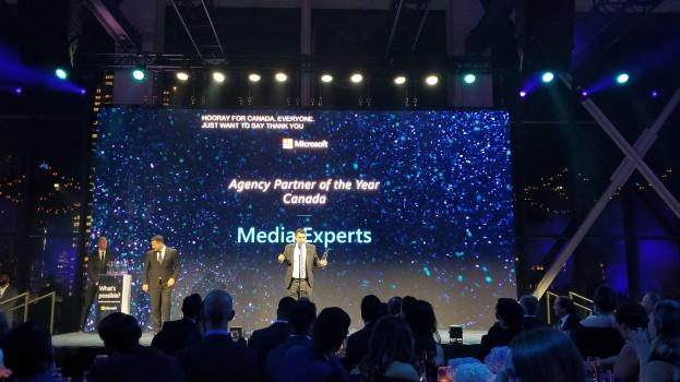 MEX Microsoft award
