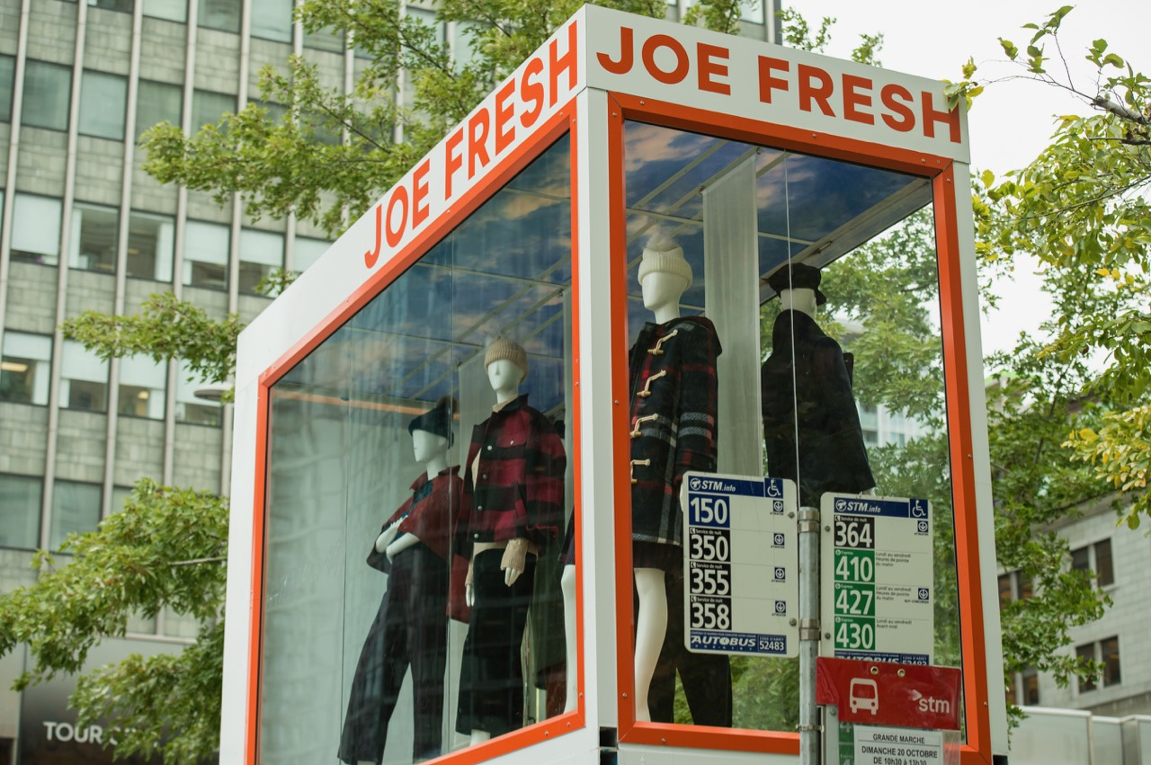 Abribus Joe Fresh 2