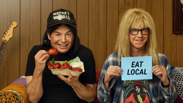 Uber Eats Wayne's World