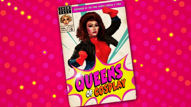 Queens of Cosplay - Title Card