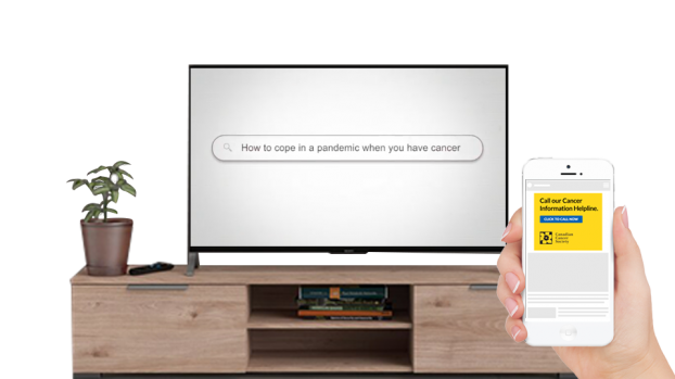 MiQ executed an advanced television campaign for the Canadian Cancer Society and then retargeted households that had been served a connected TV ad.