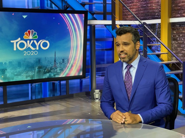 NBC-Olympic-Broadcaster-Ahmed-Fareed-wearing-INDOCHINO