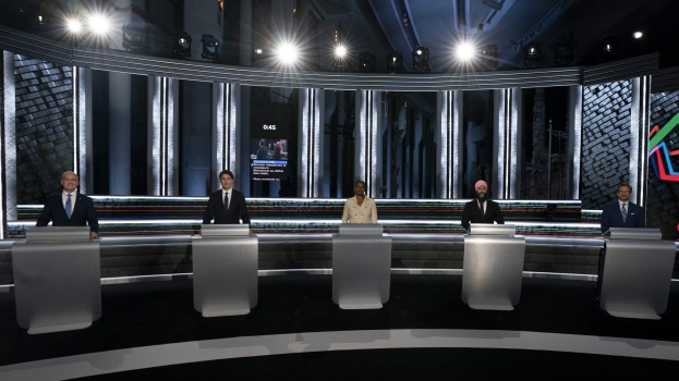 Erin O'Toole Annamie Paul Yves-Francois Blanchet Justin Trudeau Jagmeet Jagmeet Singh